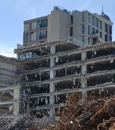 Damage to buildings in Christchurch after the 2011 earthquake