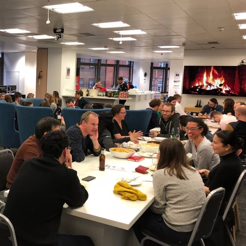Christmas Quiz event at London RMS office