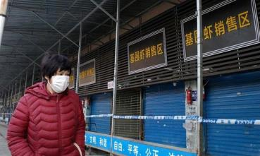 Wuhan seafood market closed
